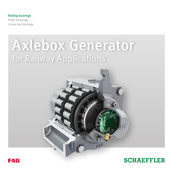 Axlebox Generator for Railway Applications