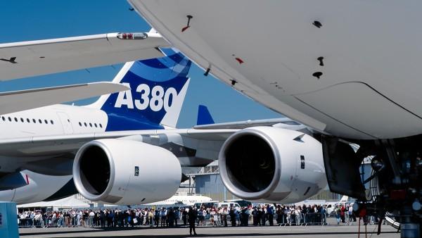 Ứng dụng thương mại: Airbus A380