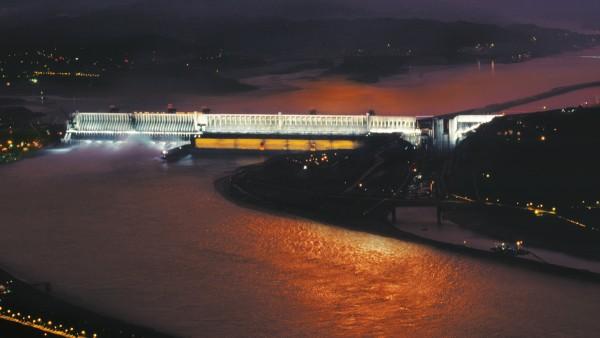 Thủy điện thông thường: Đập Tam Hiệp ở Trung Quốc