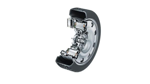 Bộ truyền động đùm bánh xe bằng điện
