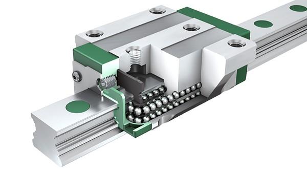 Bộ phận dẫn hướng tuyến tính Schaeffler: Các bộ phận thanh dẫn và vòng bi cầu tịnh tiến bốn dãy