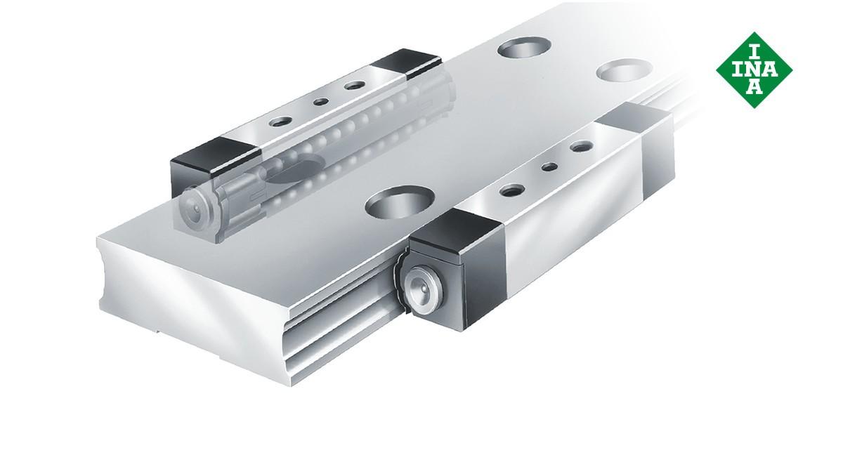 Schaeffler linear guides: Linear recirculating ball bearing units