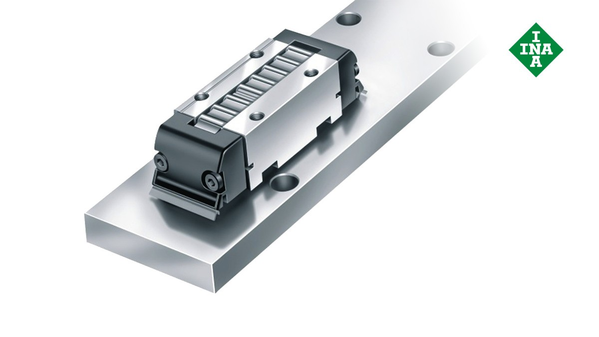Schaeffler linear guides: Linear recirculating ball bearing units