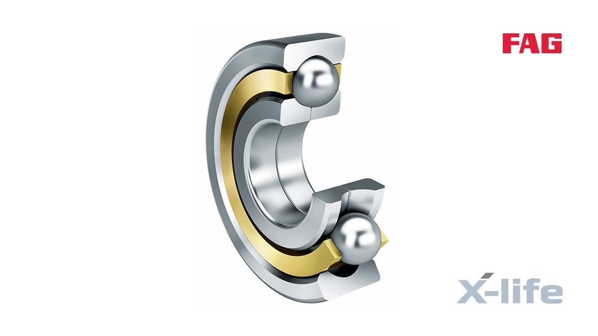 Vòng bi và khớp cầu của Schaeffler: Vòng bi cầu tiếp xúc bốn điểm