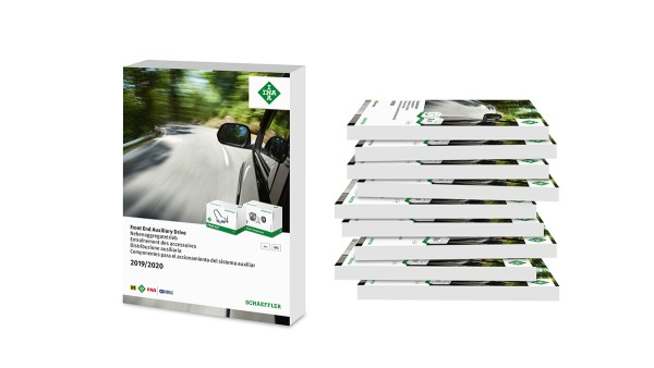 From individual parts to complete solutions: Schaeffler publishes new edition of its spare parts catalog for holistic front end auxiliary drive (FEAD) repair